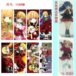 Rozen Maiden PVC Bookmarks ( 8...