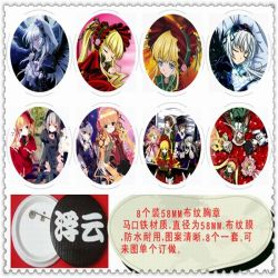 Rozen Maiden Brooch( 8 pcs) ra...