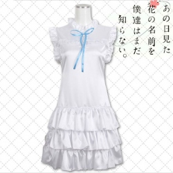 Ano hana cosplay Clothes S,M,L...