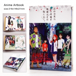 Ano hana Artbook with 10 pcs P...