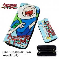 Adventure Time PU Long Wallet ...