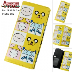 Adventure Time PU Long Wallet