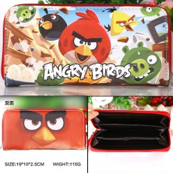 Angry birds PU wallet