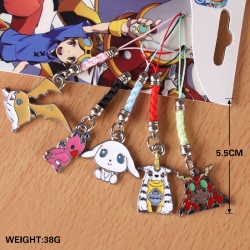 Digimon key chain price for 5 ...