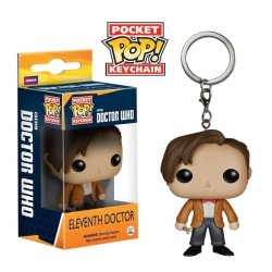 Doctor Who funkoPOP key chain ...