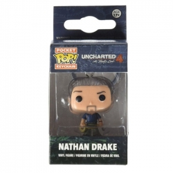 funkoPOP Uncharted key chian 4...