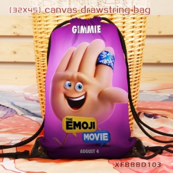 The Emoji Movie canvas backpac...