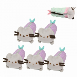 Pusheen Zipper plush pencil ca...