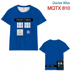 Doctor Who Full color printed ...