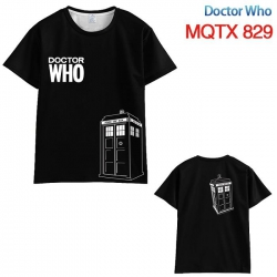 Doctor Who Black and white lin...