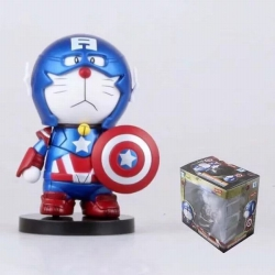 Doraemon COS Captain America B...