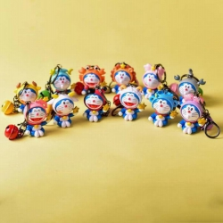 Doraemon a set of twelve Keych...