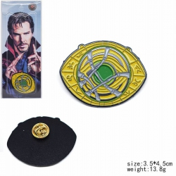 The Avengers Doctor Who Brooch...