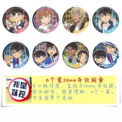 Detective conan  a set of 8 mo...