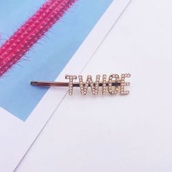 TWICE  Letters Hair Clips for ...