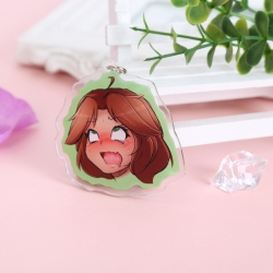 Ahegao Peace Anime acrylic key...