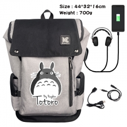TOTORO Data cable animation ga...
