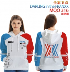Hoodie DARLING in the FRANXX  ...