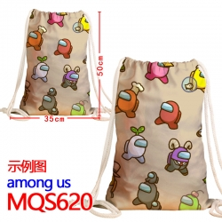 AMONG US Cartoon Drawstring Ba...